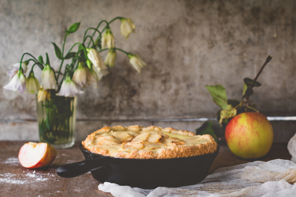 delectable apple pie