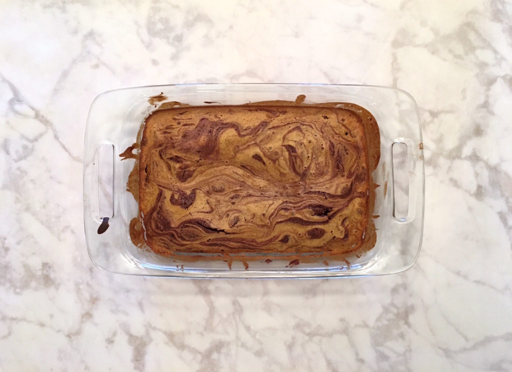 Pumpkin Spice Pecan Brownies Step 6